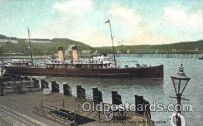 shi018011 - Dover Royal Mail Boat Queen Royal Mail Lines, Line Ship Ships Postcard Postcards