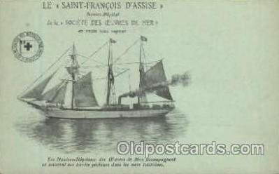 Saint Francois DAssise, Red Cross Ship