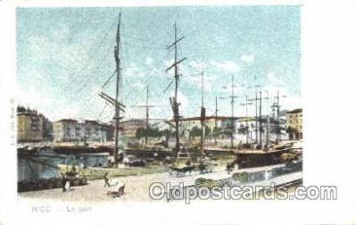 shi020072 - Le port Sail Boat, Boats Postcard Postcards