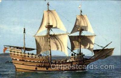 Mayflower II at Plymouth, Mass, USA