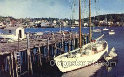 shi020152 - The Bowdoin Sail Boats, Sailing, Ship Postcard Postcards