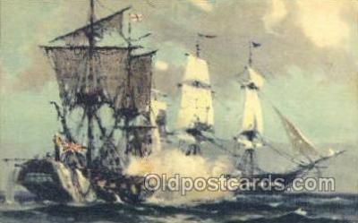 shi020177 - USF Constitution Sail Boats, Sailing, Ship Postcard Postcards