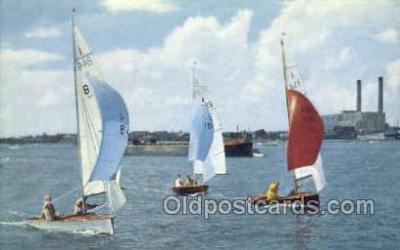 shi020188 - National Merlin Rocket Sail Boats, Sailing, Ship Postcard Postcards