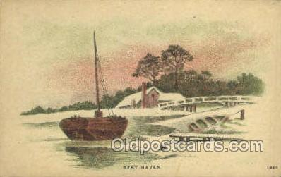 shi020193 - Rest Haven Sail Boats, Sailing, Ship Postcard Postcards