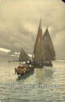 shi020194 - Sailboats Sail Boats, Sailing, Ship Postcard Postcards