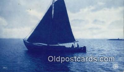 shi020257 - Sail Boat Postcard Post Card