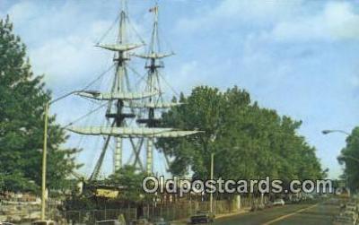 shi020294 - Flagship Niagara, Erie, Pennsylvania, PA USA Sail Boat Postcard Post Card