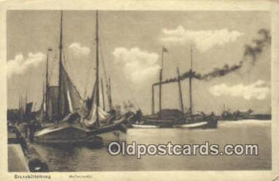 shi020324 - Brunsbuttelkoog Sail Boat Postcard Post Card