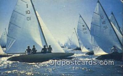 shi020338 - Sail Boat Postcard Post Card