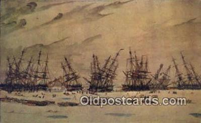 shi020370 - Forbes Collection, Hart Nautical Museum, M.I.T. Sail Boat Postcard Post Card