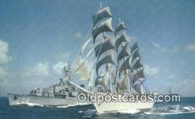 shi020387 - The Christian Radich Windjammer Sail Boat Postcard Post Card