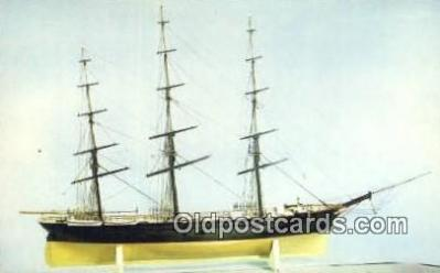 shi020394 - Extreme Clipper Ship Challenge Model, Smithsonian Institute Sail Boat Postcard Post Card