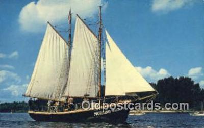 shi020395 - The Morning Star II, Oregon, OR USA Sail Boat Postcard Post Card
