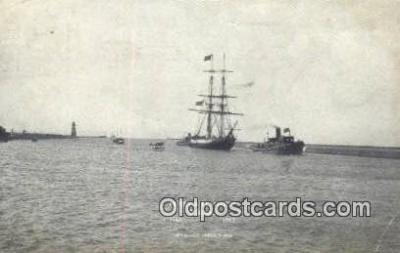 shi020447 - Perrys Flagship Niagara Sail Boat Postcard Post Card