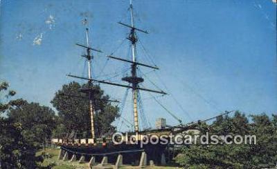 shi020452 - The Flagship Niagara, Erie, Pennsylvania, PA USA Sail Boat Postcard Post Card