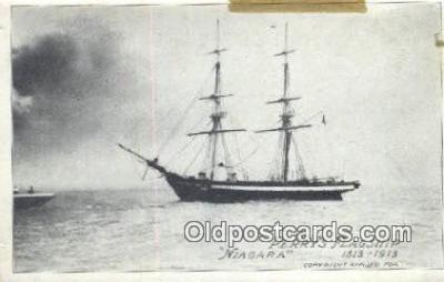 shi020453 - Perrys Flagship Niagara Sail Boat Postcard Post Card