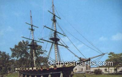 shi020455 - The Flagship Niagara, Erie, Pennsylvania, PA USA Sail Boat Postcard Post Card