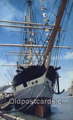 shi020503 - Balclutha, Cape Horn, San Francisco, California, CA USA Sail Boat Postcard Post Card