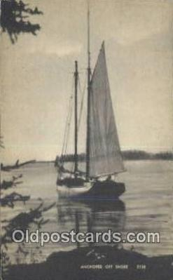 shi020545 - Sail Boat Postcard Post Card