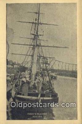 shi020559 - Perrys Flagship Niagara Sail Boat Postcard Post Card