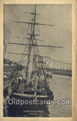 shi020570 - Perrys Flagship Niagara Sail Boat Postcard Post Card