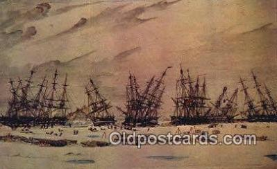 shi020582 - Forbes Collection, Hart Nautical Museum, M.I.T. Sail Boat Postcard Post Card