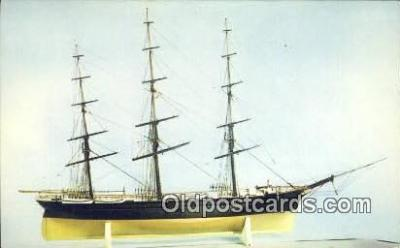 shi020640 - Extreme Clipper Ship Challenge Model, Smithsonian Institute Sail Boat Postcard Post Card