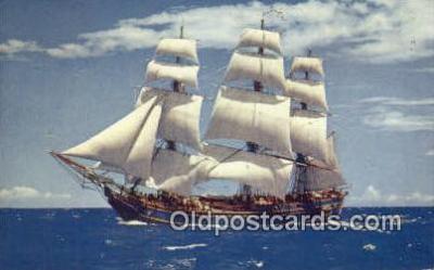 shi020662 - The Bounty Sail Boat Postcard Post Card