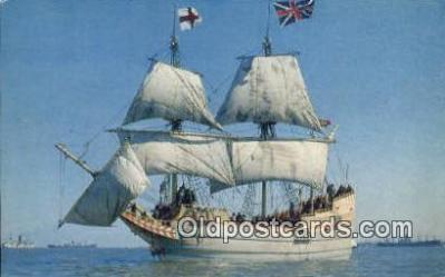 shi020664 - The Susan Constant, Jamestown, Virginia, VA USA Sail Boat Postcard Post Card