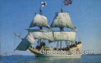 shi020669 - The Susan Constant, Jamestown, Virginia, VA USA Sail Boat Postcard Post Card