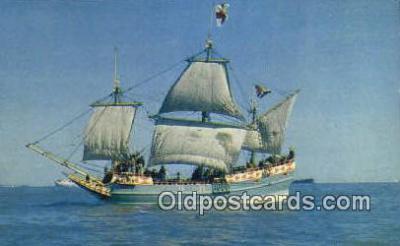 shi020677 - God Speed, Hampton Roads Sail Boat Postcard Post Card