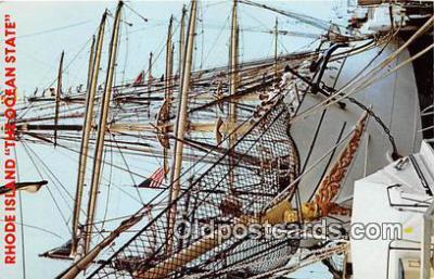 shi020758 - Ocean State Rhode Island Ship Postcard Post Card
