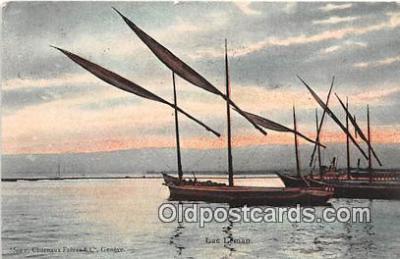 shi020771 - Lac Leman  Ship Postcard Post Card