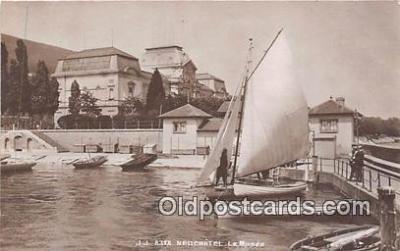 shi020818 - Neuchatel Le Musee  Ship Postcard Post Card