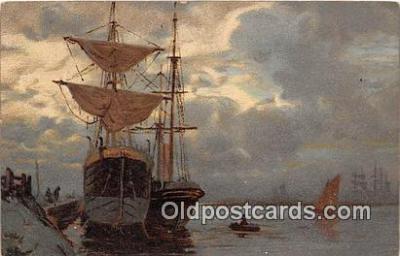 shi020821 - Ship Postcard Post Card