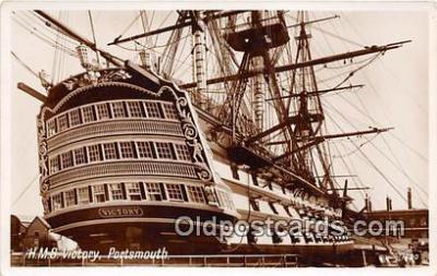 shi020833 - HMS Victory Portsmouth Ship Postcard Post Card
