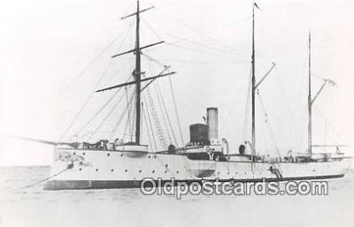 shi020847 - Old SMS Cormoran Commissioned 25 July 1839 Ship Postcard Post Card