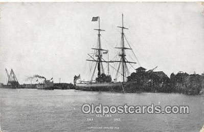 shi020857 - Perry's Flagship Niagara 1813-1913 Ship Postcard Post Card