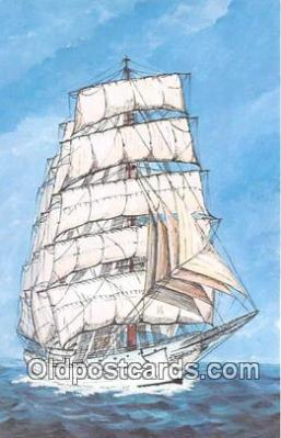 shi020893 - Christian Radich Norway 205 Three Masted Full Rigged Training Ship Ship Postcard Post Card