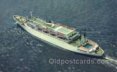 shi023010 - SS Atlantic American Export Line, Lines Ship Ships Postcard Postcards