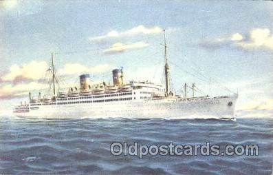 shi030010 - M.S. Italia Homelines, Home Lines, Line, Ship Ships Postcard Postcards