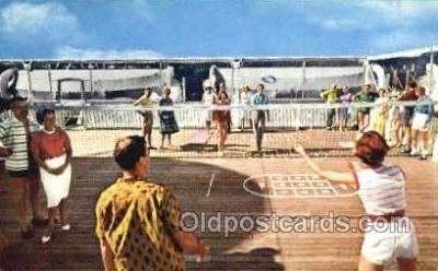 shi030011 - SS Homeric Home Lines, Ship, Ships, Postcard Postcards