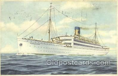 shi030013 - SS Homeland Home Lines, Ship, Ships, Postcard Postcards