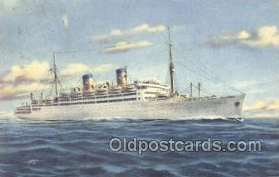 shi030014 - MS Italia Home Lines, Ship, Ships, Postcard Postcards