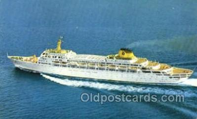 shi030015 - SS Oceanic Home Lines, Ship, Ships, Postcard Postcards