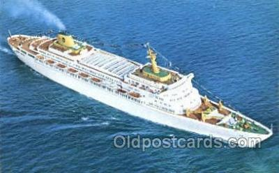 shi030022 - SS Oceanic Home Lines, Ship, Ships, Postcard Postcards