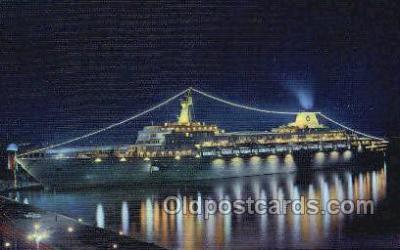 shi030029 - SS Oceanic Home Lines, Ship, Ships, Postcard Postcards