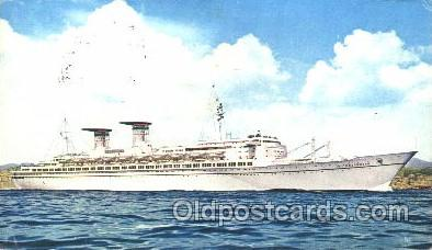 shi034014 - T.n. Michelangelo, Raffaello Navigazions Generale Italiana Ship Ships Postcard Postcards