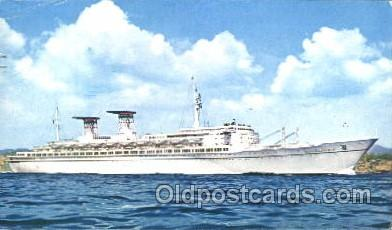 shi034015 - T.n. Michelangelo, Raffaello Navigazions Generale Italiana Ship Ships Postcard Postcards
