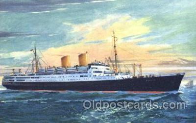 shi035024 - MS. Berlin Norddeutscher Lloyd Ship Ships Postcard Postcards